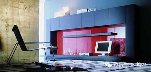 几款现代电视墙欣赏